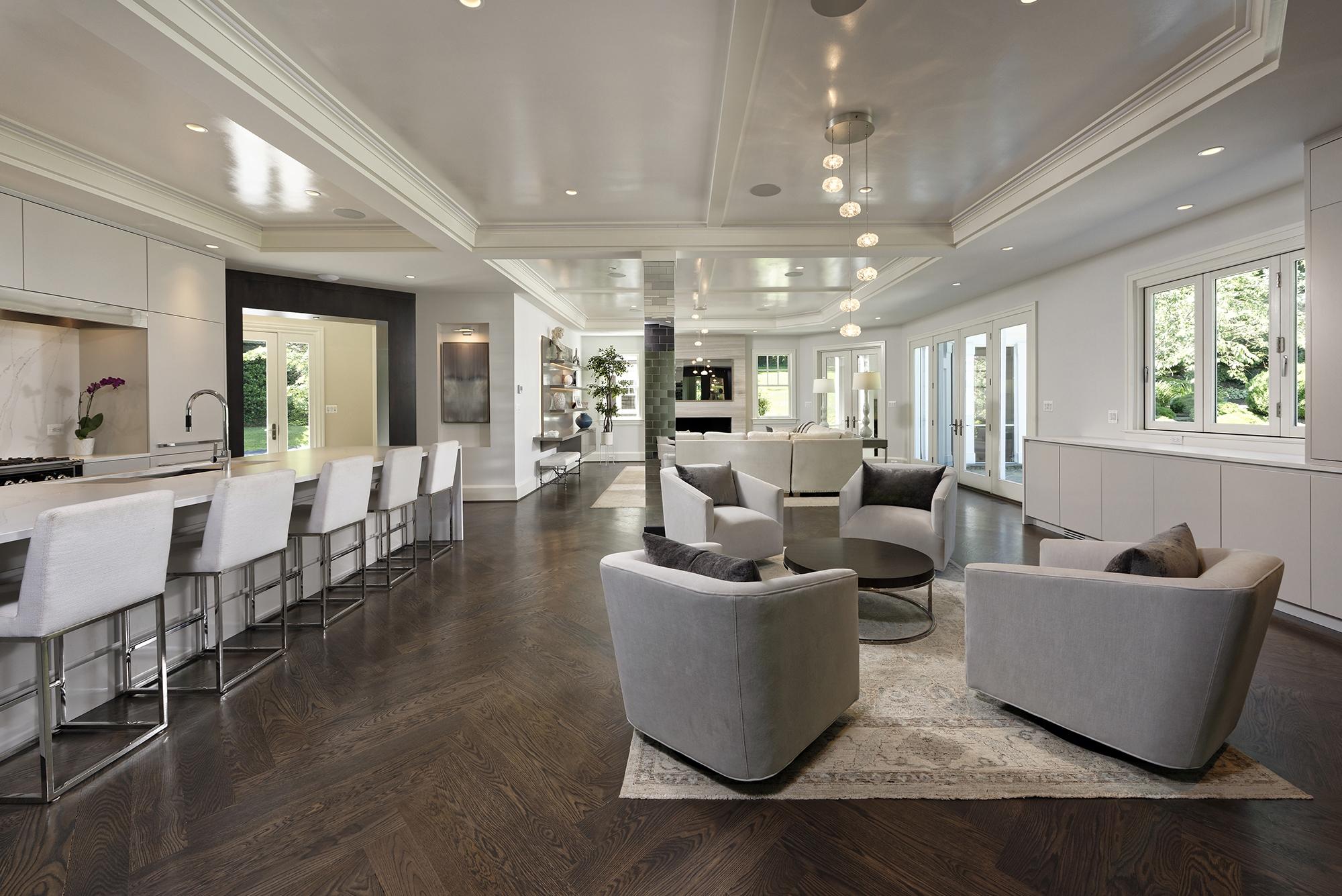 Modern Luxury Kitchen Master Bath And Basement Remodel In