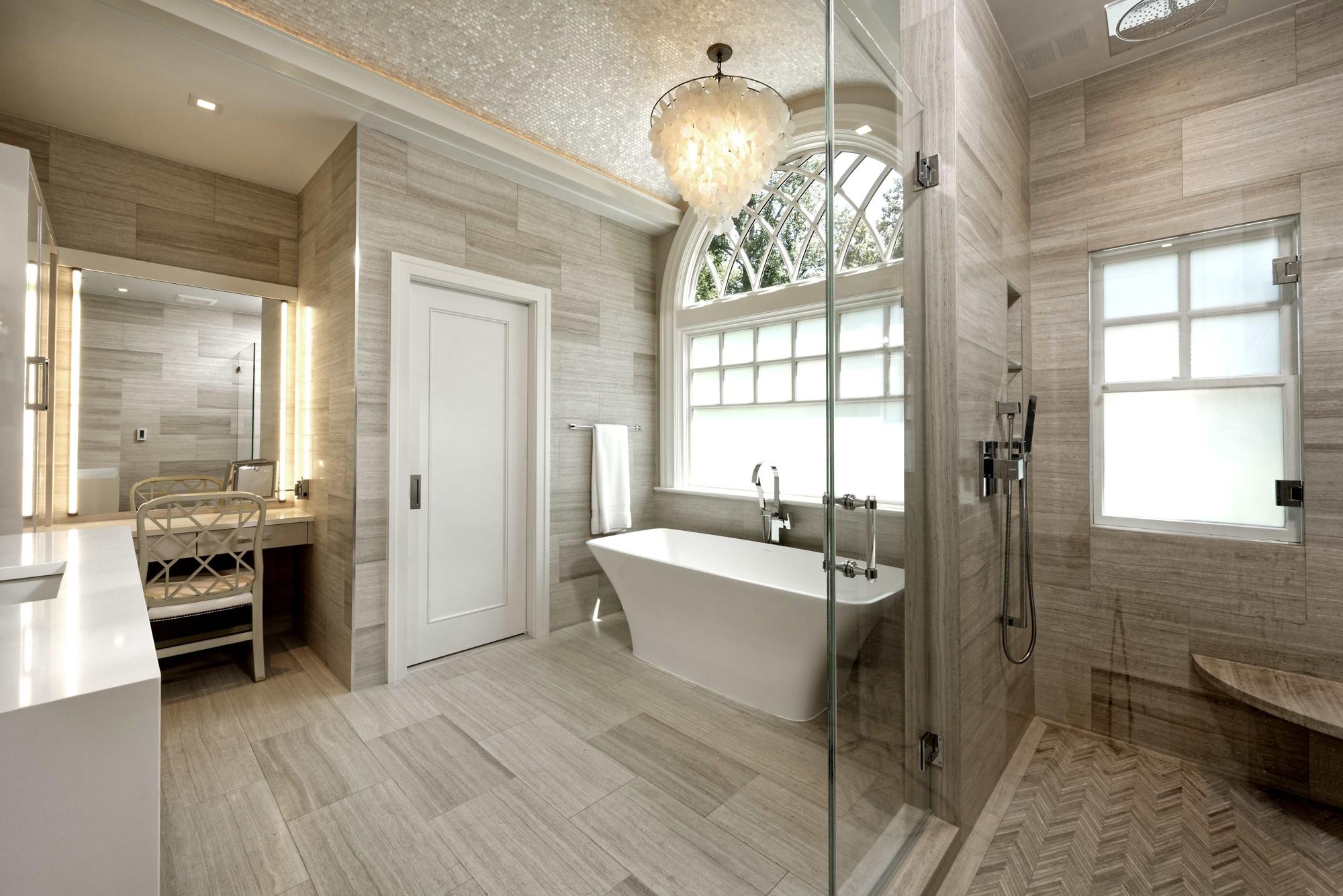 Modern Luxury Kitchen, Master Bath and Basement Remodel in ...