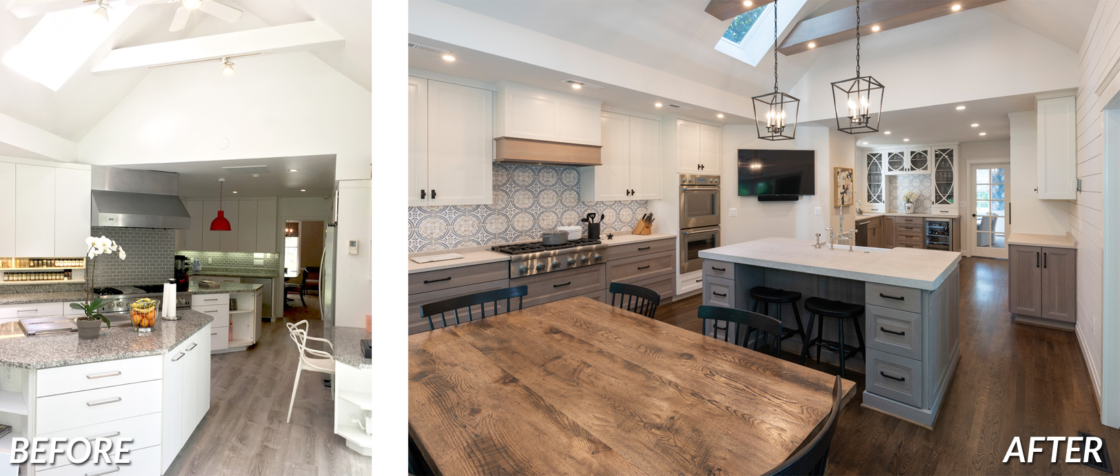 BOWA Design Design Build - DC Kitchen Renovaiton Before & After