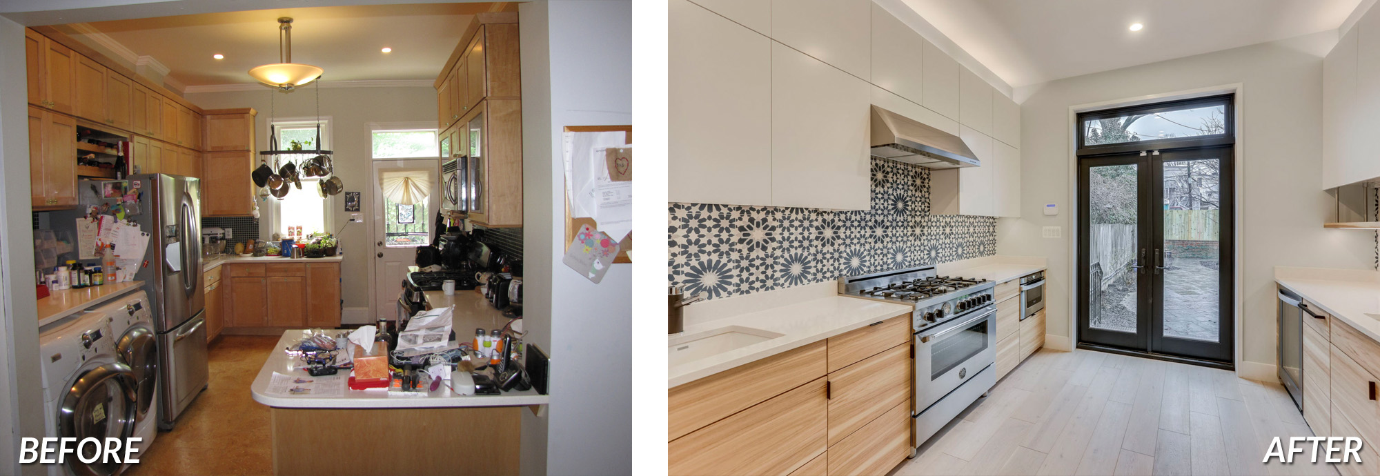 BOWA Design Design Build - DC Townhome Renovation Before & After
