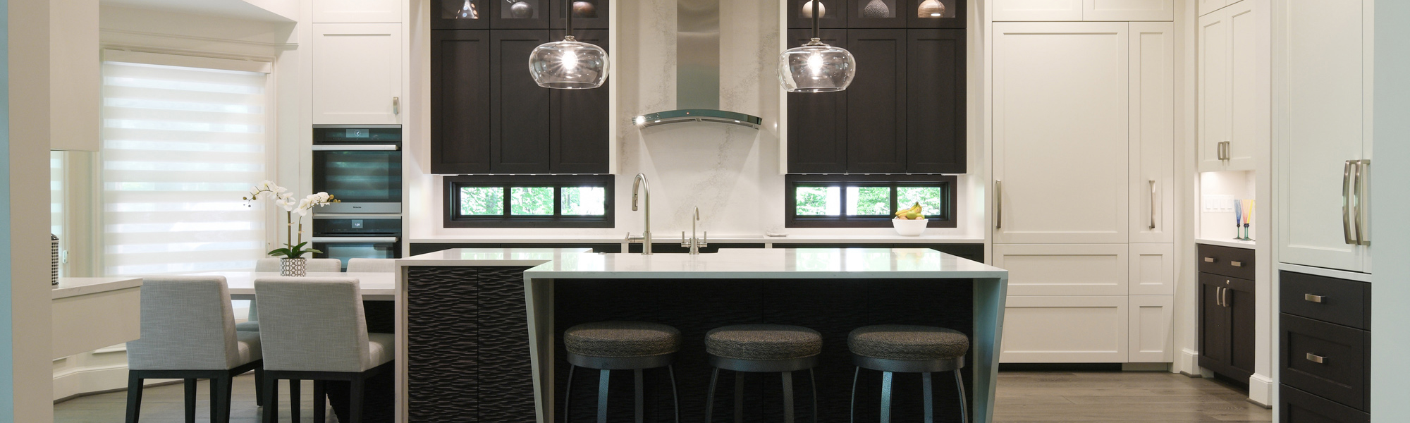 BOWA Design Build Kitchen Renovation in McLean