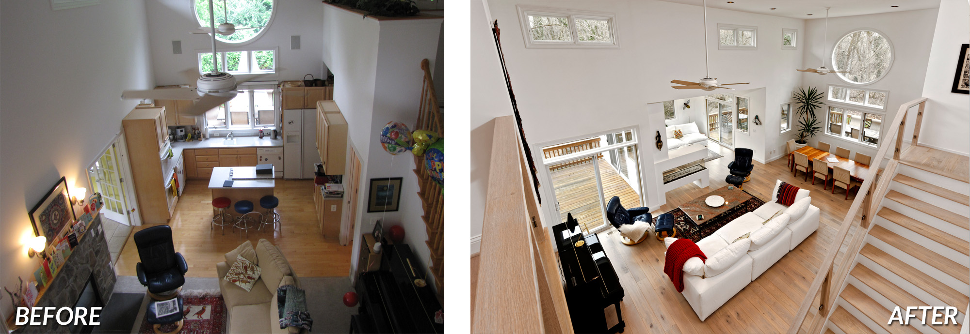 BOWA Design Design Build - McLean Contemporary Renovation Before & After