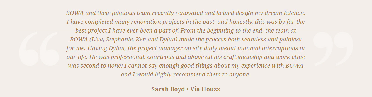 Google Review DC Remodeling Firm - Sarah Boyd