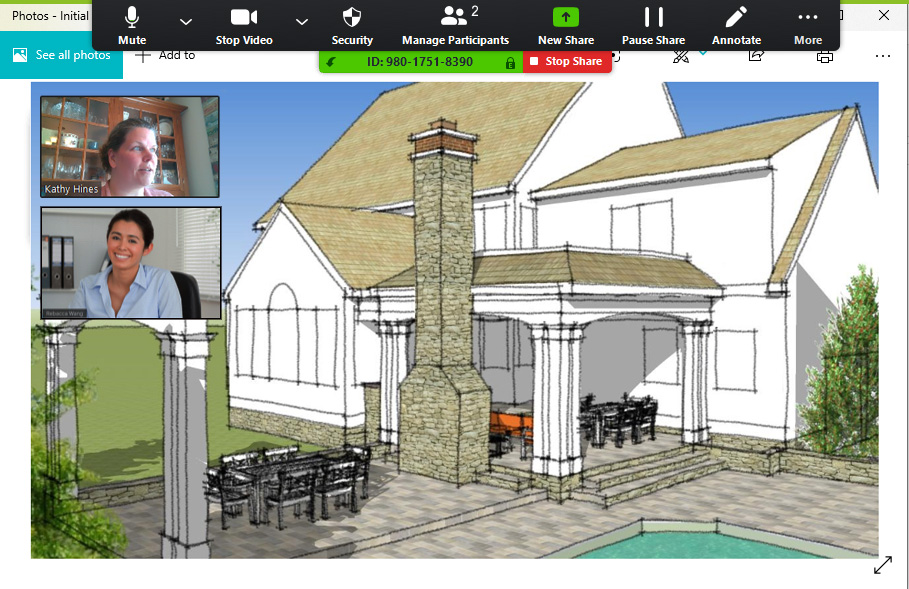 BOWA Virtual Renovation Design - Zoom