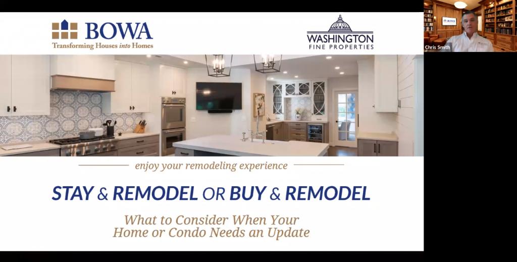 Stay & Remodel or Buy & Remodel - Webinar Recording