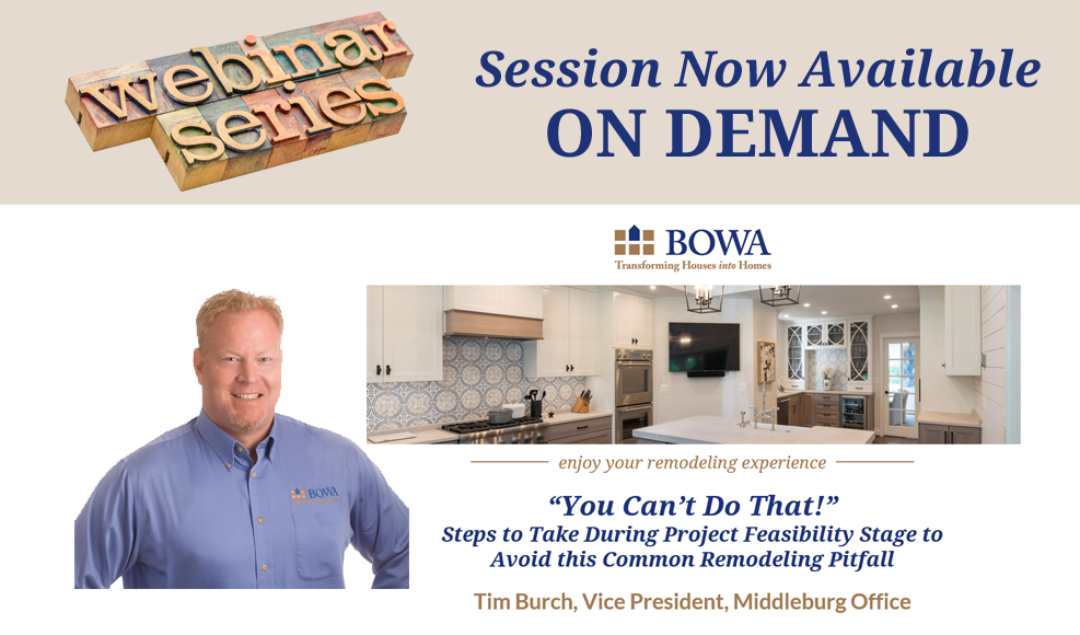 Project Feasibility Tips BOWA Webinar