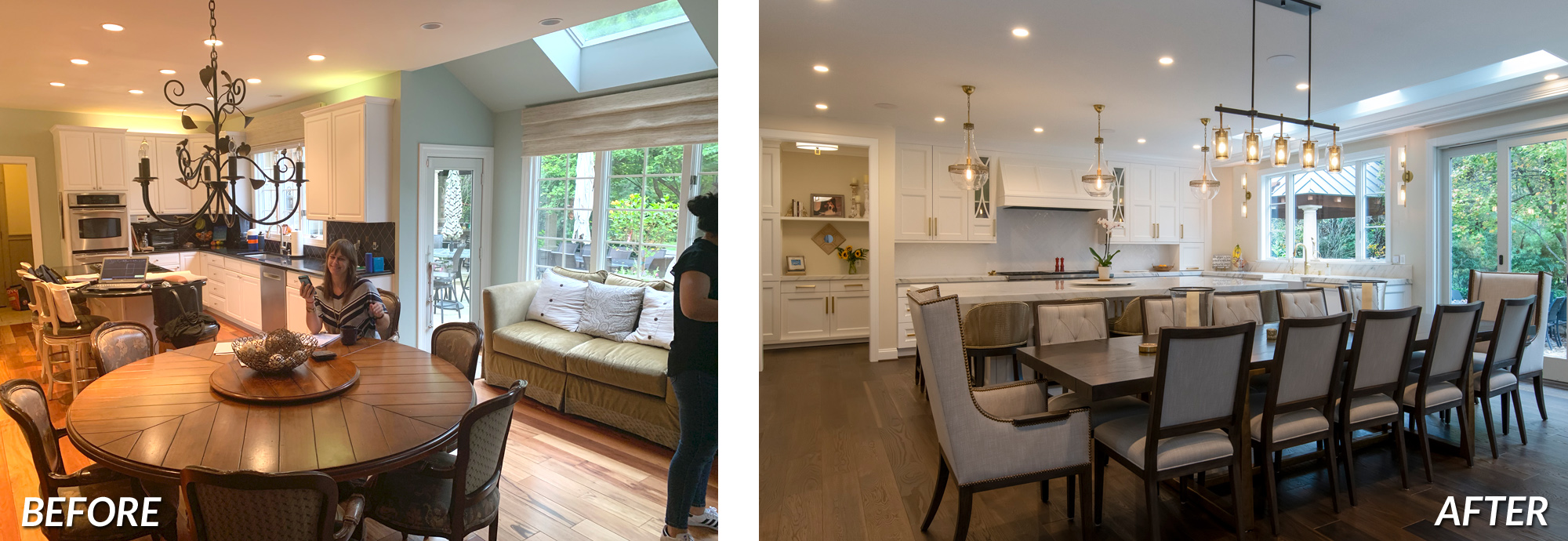 BOWA Design Build - Great Falls Kitchen Renovation Before & After