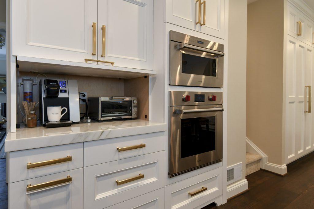 BOWA Design Build Kitchen and Owner's Bath Renovation in Great Falls, VA