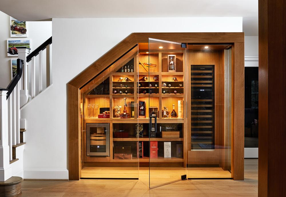 McLean Custom Design Build Renovation Main level baths basement