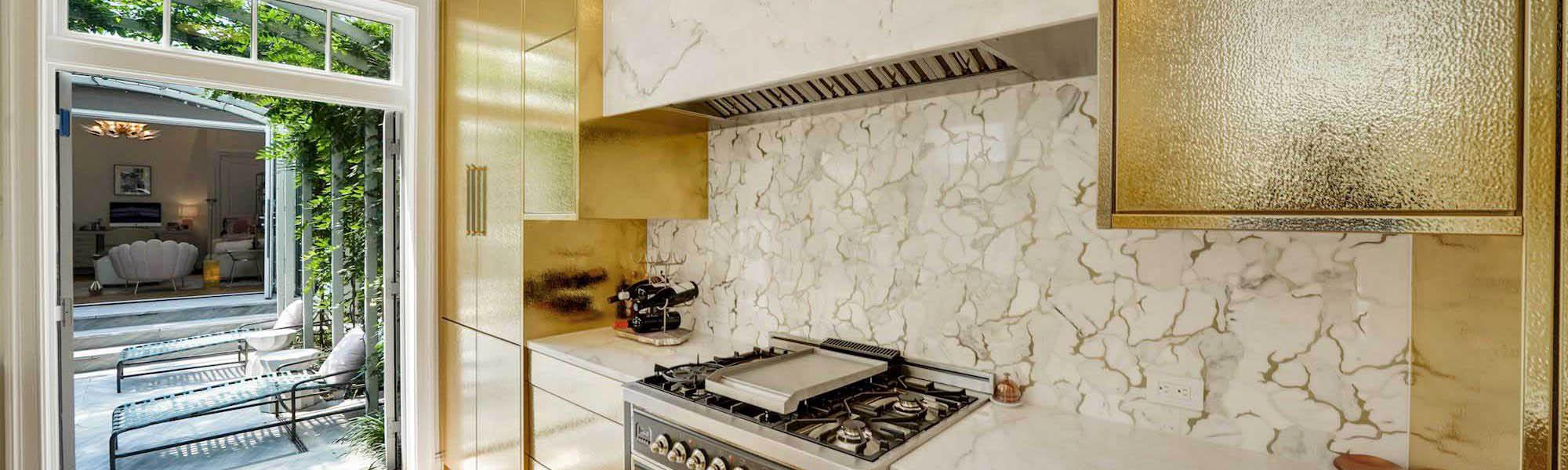 Elegant Brownstone Renovation in Georgetown - Kitchen